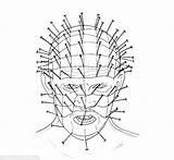 Jason Voorhees Mask Drawing Coloring Pages Getdrawings sketch template