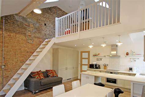 Kitchen Design Ideas For Small Kitchens - full flat refurbishment including mezzanine floor kitchen renovation in kingston upon thames