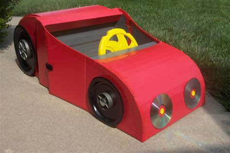 box auto how to make a car from a cardboard box just for
