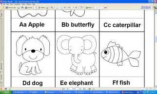 ESL Phonics Worksheets Alphabet