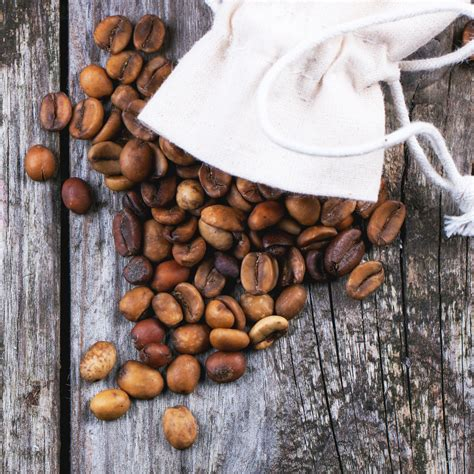 Decaf coffee stands for decaffeinated coffee, of course. Unroasted decaf coffee beans   Nicholas C. Rossis
