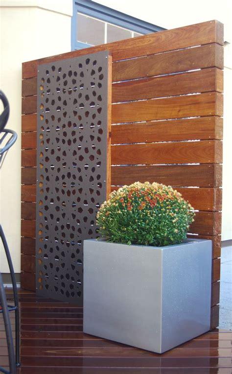 landscape screens for privacy lower deck roof deck urban garden landscape design