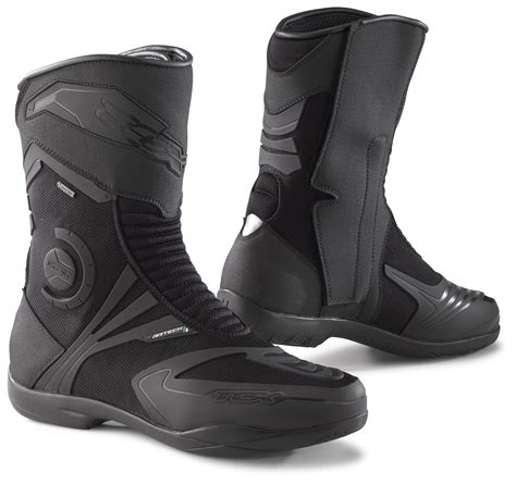 lightweight motorcycle boots mens shoes tcx airtech evo gore tex boots revzilla
