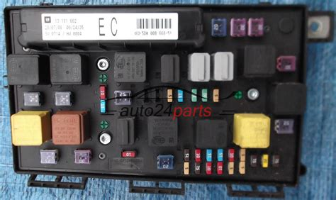 Fuse Box Opel Astra Gtc by Fuse Relay Box Electrical Comfort Module Opel