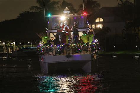 pompano beach holiday boat parade 2016 florida powerboat
