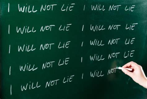 I Will Not Lie