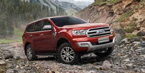 2016 Ford Endeavour Price