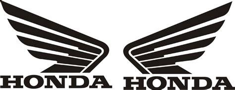 honda wings 115mm 90mm tank sticker decal 2 ebay