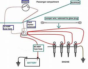 Chevy 6 2 Glow Plug Manual Switch Wire Diagram