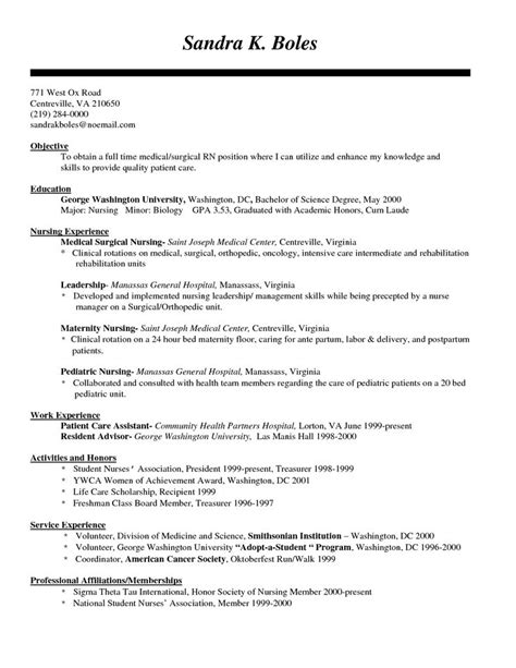 Rn Resume Builder by Best 25 Nursing Resume Ideas On Registered