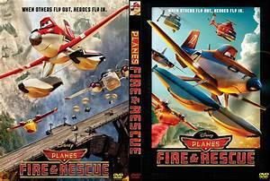Planes: Fire & Rescue DVD Cover (2014) Custom Art