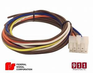 Federal Signal Siren Power Harness 10 Pin Cable Pa300 690001