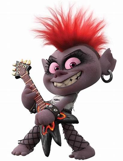 Barb Trolls Queen Rock Tour Troll Punky