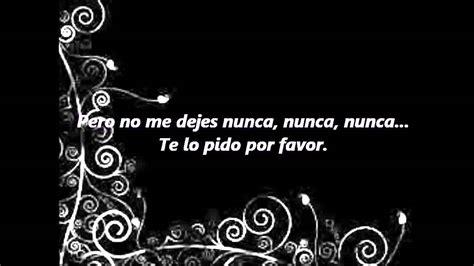 Jaguares- Te Lo Pido Por Favor (letra)