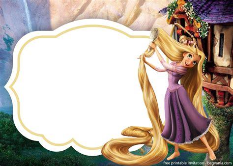 rapunzel invitations template   bagvania