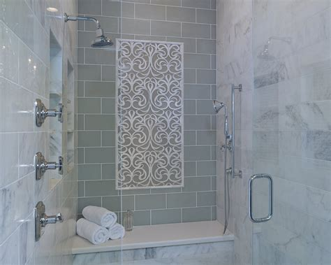 Stylish Transitional Master Bathroom Before And After