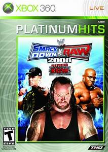 Co Optimus WWE Smackdown Vs Raw 2008 Xbox 360 Co Op