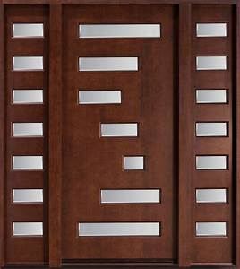 Modern CUSTOM FRONT ENTRY DOORS - Custom Wood Doors from ...