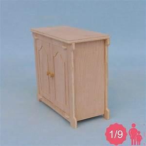 Meuble Bas 2 Portes : meuble bas miniature pour poup e 1 9 me ex pukifee ~ Dallasstarsshop.com Idées de Décoration