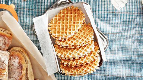 butter waffle cookies  mascarpone