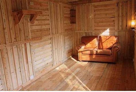 james building shed  pallets