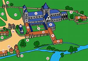 Berkshire History For Kids  Different Parts Of An Abbey