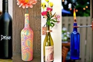 Customiser Une Bouteille De Vin : 5 diy pour recycler ses bouteilles de vin vides ~ Zukunftsfamilie.com Idées de Décoration