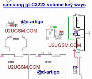 Samsung C3222 Volume Up Down Keys Not Working Problem