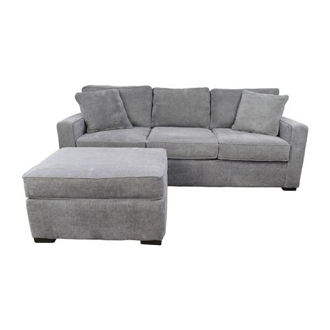 macy s sofas and loveseats sofa and ottoman 58 off macy s radley grey sofa and