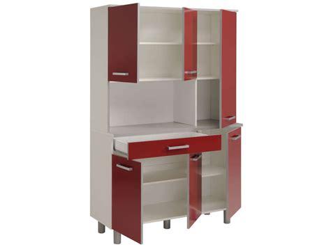meubles bas cuisine buffet 120 cm cerise vente de buffet de cuisine conforama
