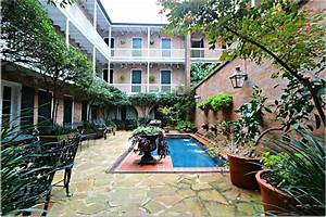 The, French, Quarter, Condo, Life, Is, Full, Of, Many, Small, Courtyards, And, Gardens, That, People, Do, Not