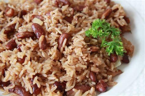 cuisiner les haricots plats riz collé haitien