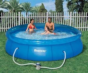 Bestway Pool Set : bestway pool 12ft fast set clear blue inflatable ring splasher garden pool set ~ Eleganceandgraceweddings.com Haus und Dekorationen