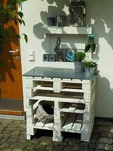 Pflanztisch Aus Paletten Bauen : pflanztisch aus kleinen paletten garten ~ Eleganceandgraceweddings.com Haus und Dekorationen