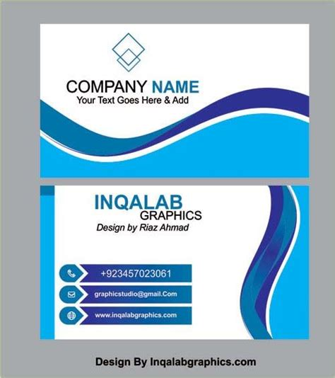 business card templates vector coreldraw design cdr file