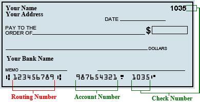 Wells Fargo Checks Account Number Location, Wells, Get ...