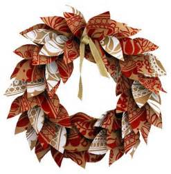 how to make a fall wreath with paper crafts for fall apps directories