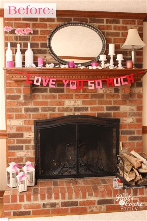 Easy Brick Fireplace Makeover - exceptionally easy and dramatic fireplace makeover 187 the