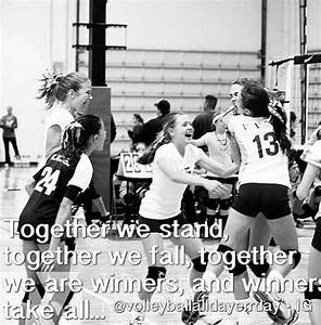 17 Best images ... Volleyball Cheers Quotes