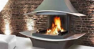 Cheminée à Foyer Ouvert : cheminee foyer ouvert ferme ~ Premium-room.com Idées de Décoration
