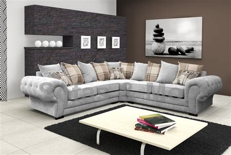 Couches For Sale by Chesterfield Sectional Corner Sofa Suite Verona Velour
