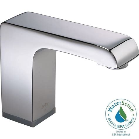 delta touchless kitchen faucet not working delta commercial battery powered single touchless