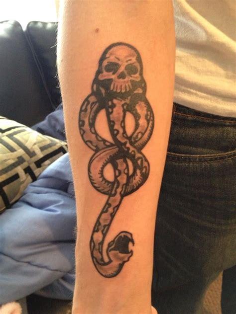 dark mark harry potter tattoos popsugar australia
