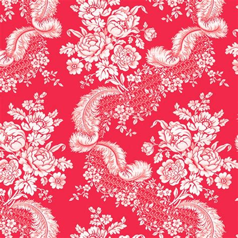 image of plume in persimmon upholstery fabric beautiful