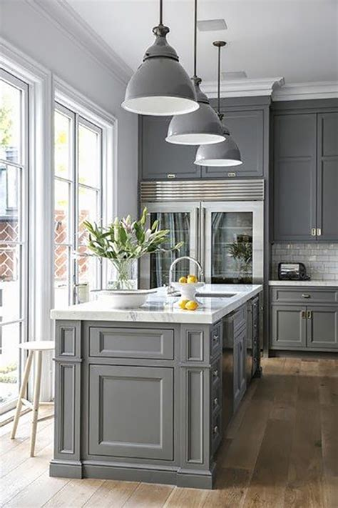 grey kitchen inspiration  dgr interior designs