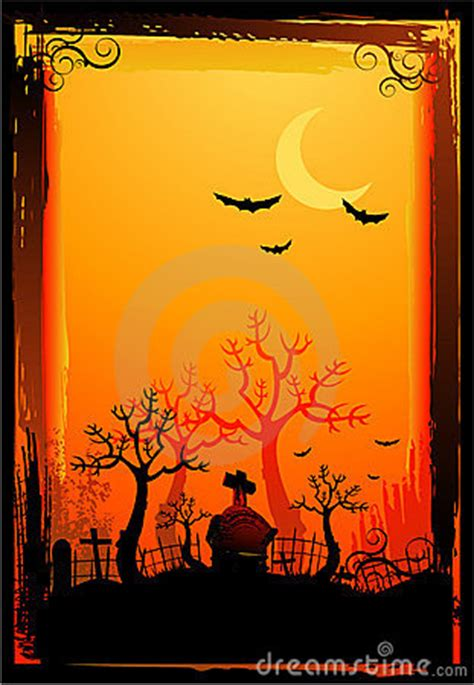 halloween poster background royalty  stock