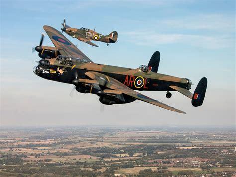 crushed hitler  great  lancaster bomber