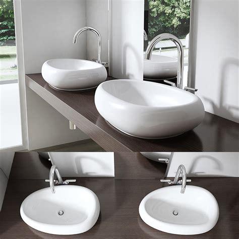 taille vasque salle de bain 2 vasque ronde oblongue jpg ukbix