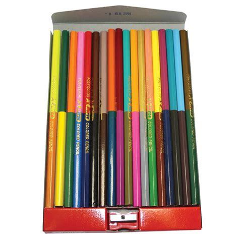 ดินสอสี 2 หัว 18 ด้าม 36 สี ตราม้า   OfficeMate