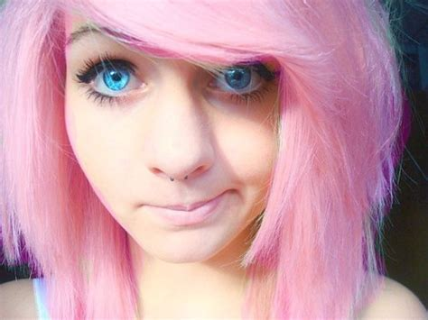 Fashion Girl Hair Pink Hair Inspiring Picture On
